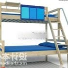 Student Wood Bunk Bed