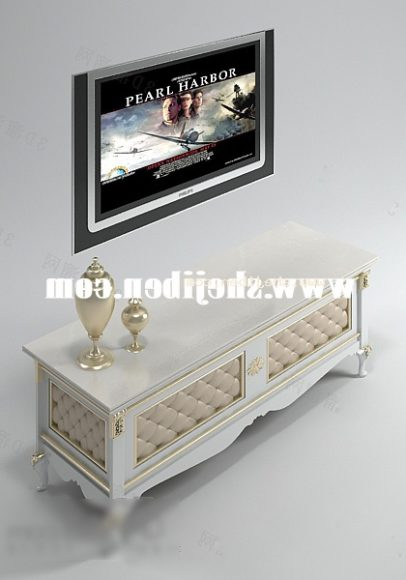 European Tv Cabinet Classic Decor