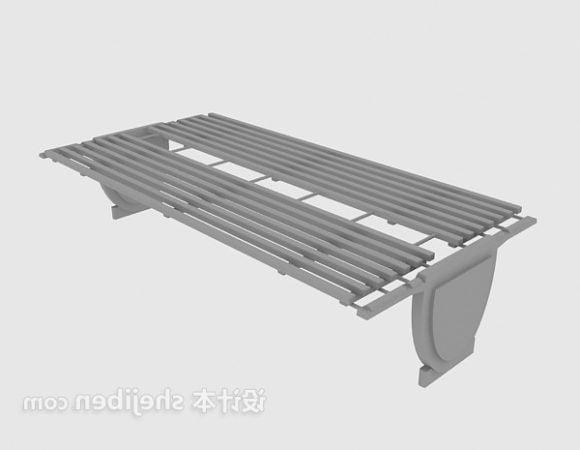 Landscape Metal Bench