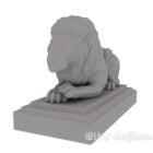 Entrance Lion Sculpture Statue