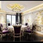 Luxury European Dinning Room Interior Scene