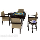 Gaming Mahjong Tisch- und Stuhlset