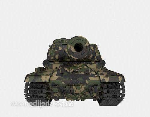 Military Tank Big Artillery