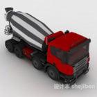 Cement Mixer Heavy Truck
