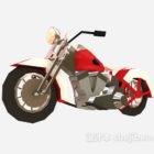 Styl motocyklowy Chopper