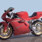 Racing motorcykel Ducati