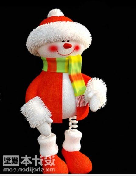 Cute Cartoon Santa Character