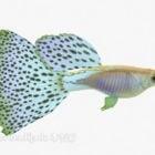 Animale pesce maculato