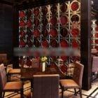 レストランのテーブルと椅子の一般的なスタイル