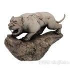 Zodiac Sculpture Tiger Statue