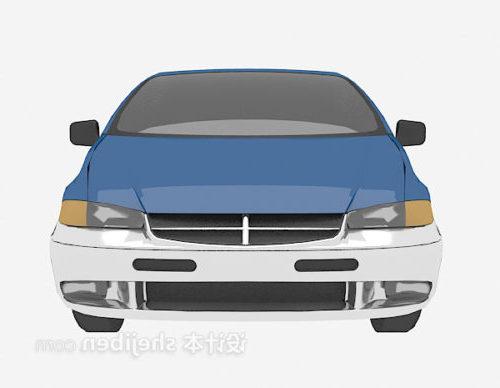 Old Blue Car Vehicle