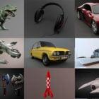 Top 20 Blender 3D Models Download August 2020
