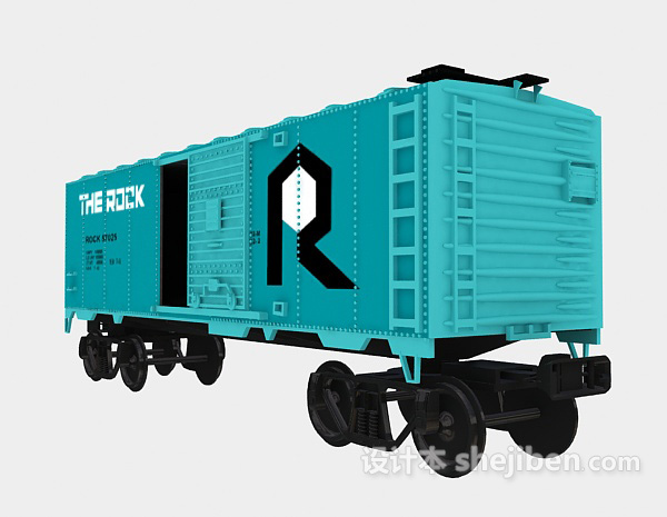 Train Carriage Transport Vehicle
