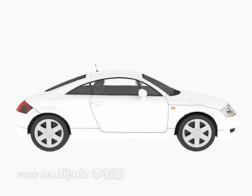 White Fashion Car Vehicle