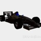 ブラックF1レーシングカー