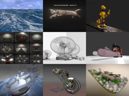 10 رسوم متحركة مجاني Blendنماذج er 3D - الأسبوع 2020-40