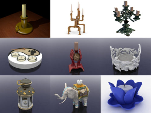 10 modelos 3D sin velas - Semana 2020-38