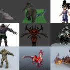 10 modelos 3D libres de animales de fantasía - Semana 2020-39