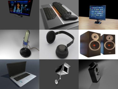 10 Gadget ilmaiseksi Blender 3D-mallit - viikko 2020-40