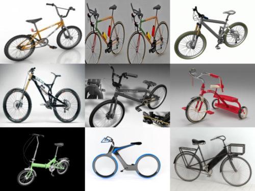 10 modelos 3D sin bicicletas HQ - Semana 2020-38