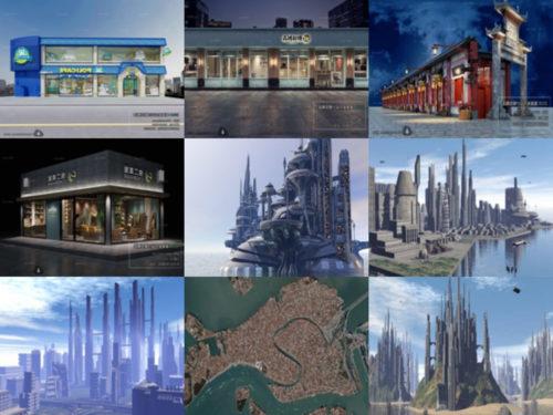 10 korkealaatuista 3D-mallia