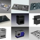 10 Kitchen Stove Free 3D Models – Week 2020-38