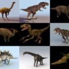 10 Realistic Dinosaur Free 3D Models – Week 2020-38