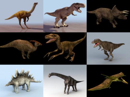 10 modelos 3D realistas sin dinosaurios - Semana 2020-38