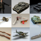 10 WW2 Free 3D Models – Week 2020-38