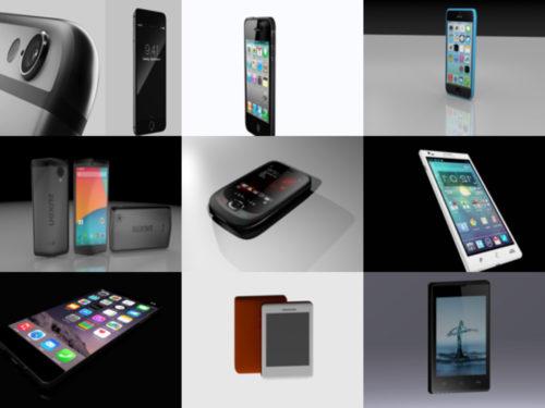 12 Älypuhelin ilmaiseksi Blender 3D-mallit - viikko 2020-40