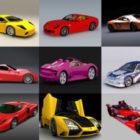 12 Sport Car Free 3D Models – Week 2020-38