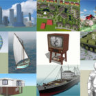 20 High Quality Sketchup Free 3D Models Collection