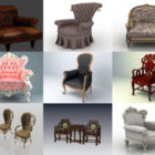 20 Classic Chair Free 3D Models Collection