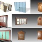 20 High Detailed Door Free 3D Models Collection