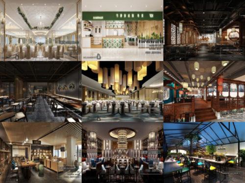 20 مشاهد داخلية عالية الجودة للمطعم ثلاثية الأبعاد