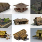 20 Vintage House Free 3D Models Collection
