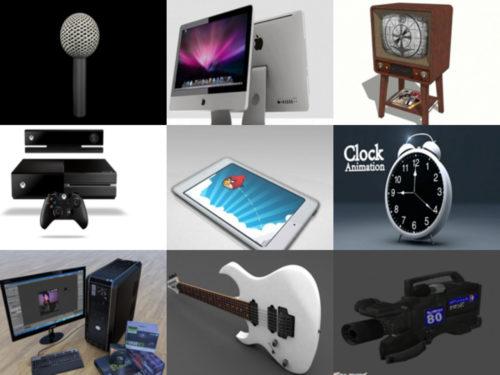 Los 10 mejores modelos 3D gratuitos electrónicos - Semana 2020-39