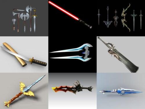 10 modelos 3D sin espadas de belleza - Semana 2020-38