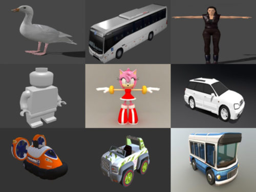 Top 12 Blend Modelos 3D - Semana 2020-38
