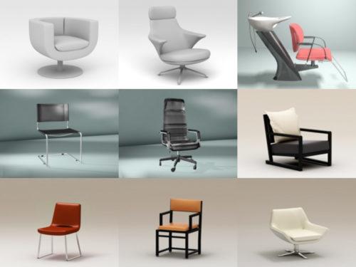 20 نموذجًا ثلاثي الأبعاد للكرسي عالي الجودة - الأسبوع 3-2020