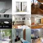 10 3ds Max Bathroom 3D Models – Day 16 Oct 2020