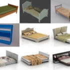10 3ds Max Bed 3D Models – Day 15 Oct 2020