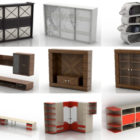 10 3ds Max Cabinet 3D Models – Day 15 Oct 2020