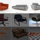 10 3ds Max Chair 3D Models – Day 15 Oct 2020