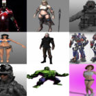 10 3ds Max Character 3D Models – Day 16 Oct 2020