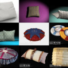 10 3ds Max Cushion 3D Models – Day 18 Oct 2020