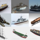 10 3ds Max Ship 3D Models – Day 18 Oct 2020