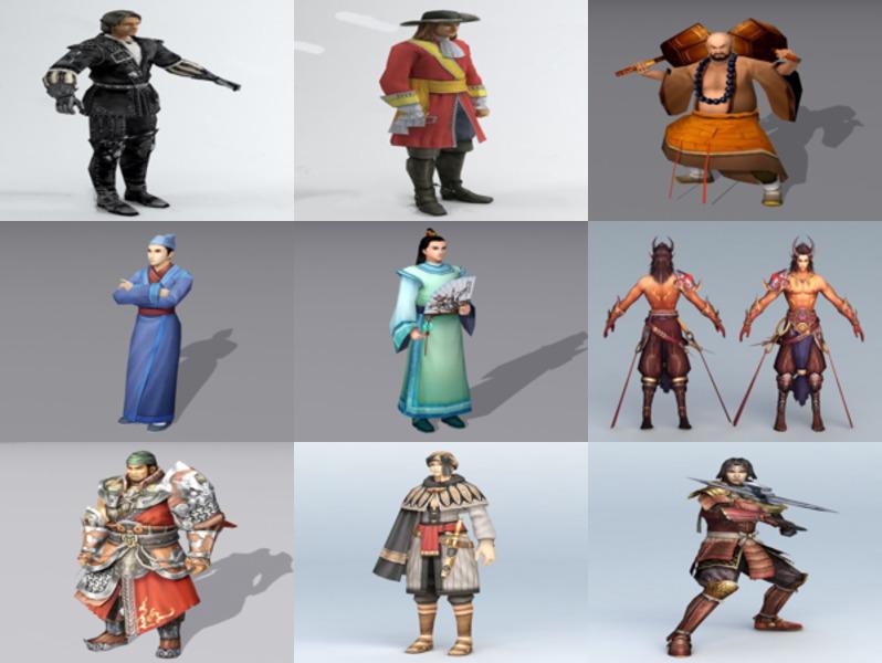 10 modelos 3D gratuitos de hombre antiguo - Semana 2020-43