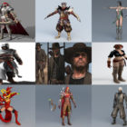 10 Assassin 3D Models Character – Week 2020-44