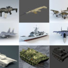 10 Blender Military 3D Models – Day 2020.10.14